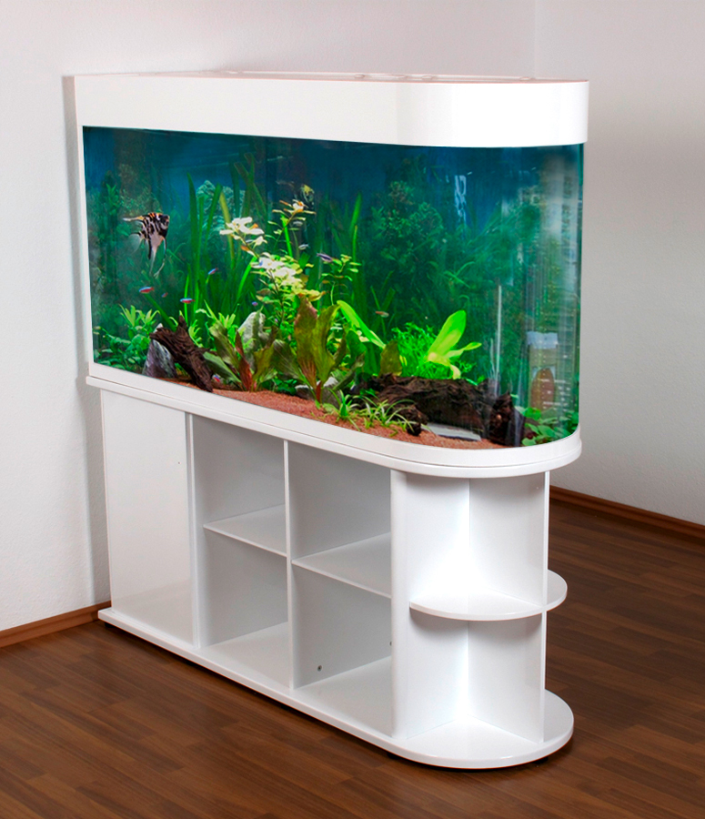 raumteiler aquarium in verschiedenen gr en 100cm 120cm 150cm 180cm ebay. Black Bedroom Furniture Sets. Home Design Ideas