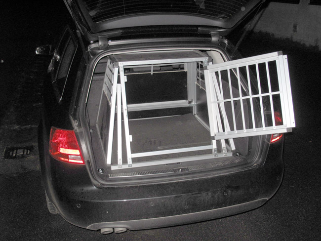 n29 hundetransportbox gitterbox aluminium transportbox. Black Bedroom Furniture Sets. Home Design Ideas