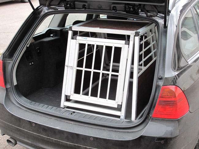 n24 hundetransportbox gitterbox aluminium transportbox. Black Bedroom Furniture Sets. Home Design Ideas