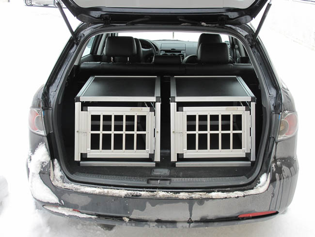 n35 hundetransportbox gitterbox aluminium transportbox. Black Bedroom Furniture Sets. Home Design Ideas