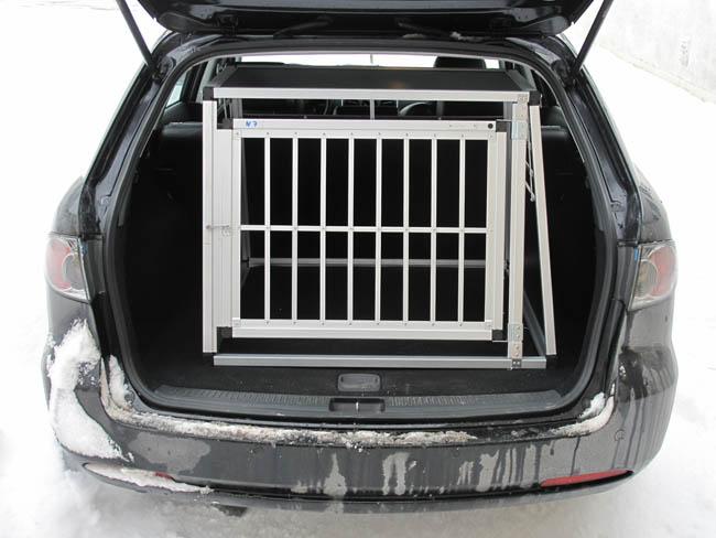 n7 hundetransportbox gitterbox aluminium transportbox. Black Bedroom Furniture Sets. Home Design Ideas