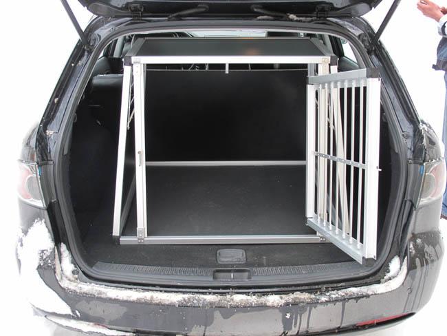 n9 hundetransportbox gitterbox aluminium transportbox. Black Bedroom Furniture Sets. Home Design Ideas