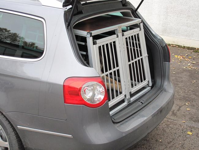 n13 trasportino per cane gitterbox alluminio scatola cani. Black Bedroom Furniture Sets. Home Design Ideas