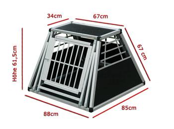 bitte die Maße mit denen Ihres Kofferraums vergleichen