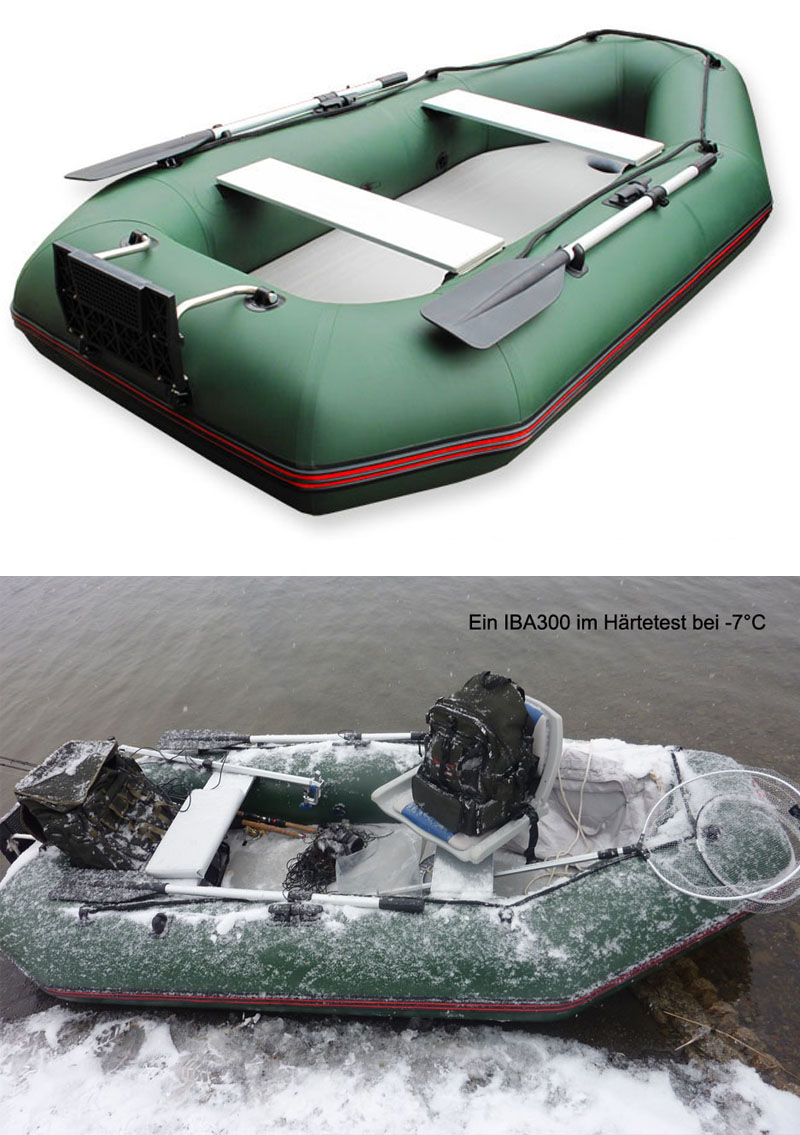 ALPUNA nautic IBA 180 Schlauchboot Angelboot Ruderboot grün