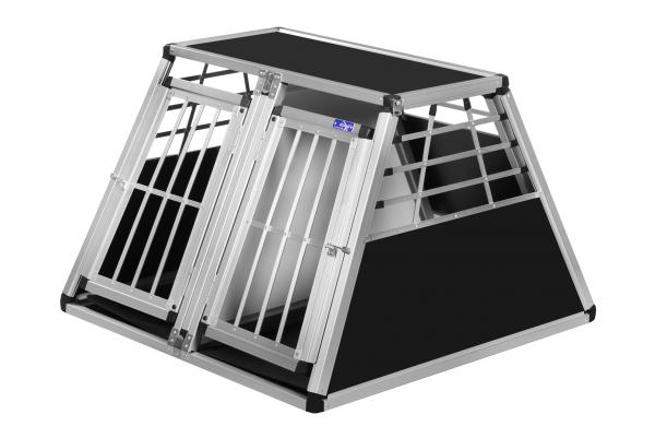 Transportbox N43 / 96x93x65cm / Doppelbox mit Notausstieg
