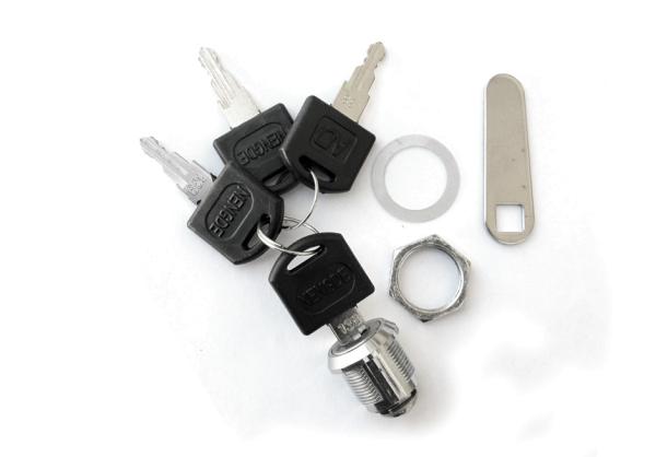 Ersatzschloss mit 4 Schlüssel