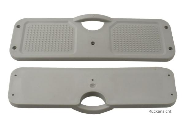 Motorhalteplatte / Heckspiegel-Schutzplatte