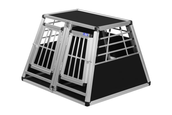 Transportbox N23 / 82x90x63cm / Doppelbox mit Notausstieg
