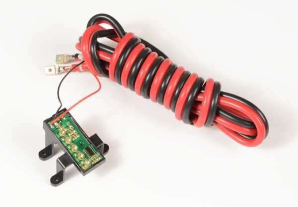 Batteriekabel inkl. LED- Batteriestandsanzeige >Osapian 30,40,55 und 55S<