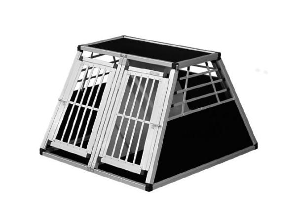 Transportbox N43 > 96x93x65cm Notausstieg Doppelbox