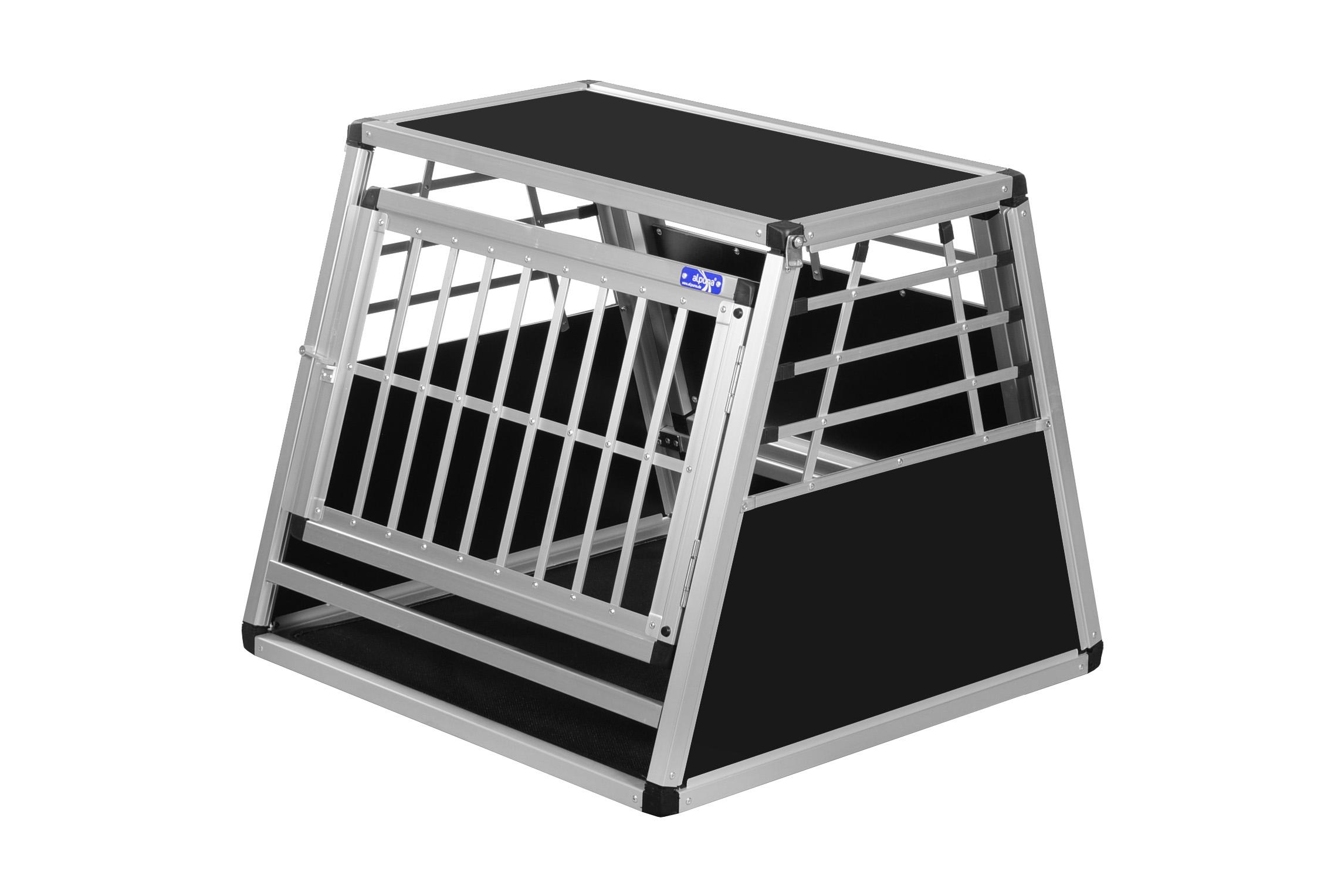 transportbox n19 72x72x62cm notausstieg alu hundeboxen. Black Bedroom Furniture Sets. Home Design Ideas