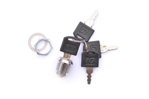 Ersatzschloss mit 4 Schlüssel universal