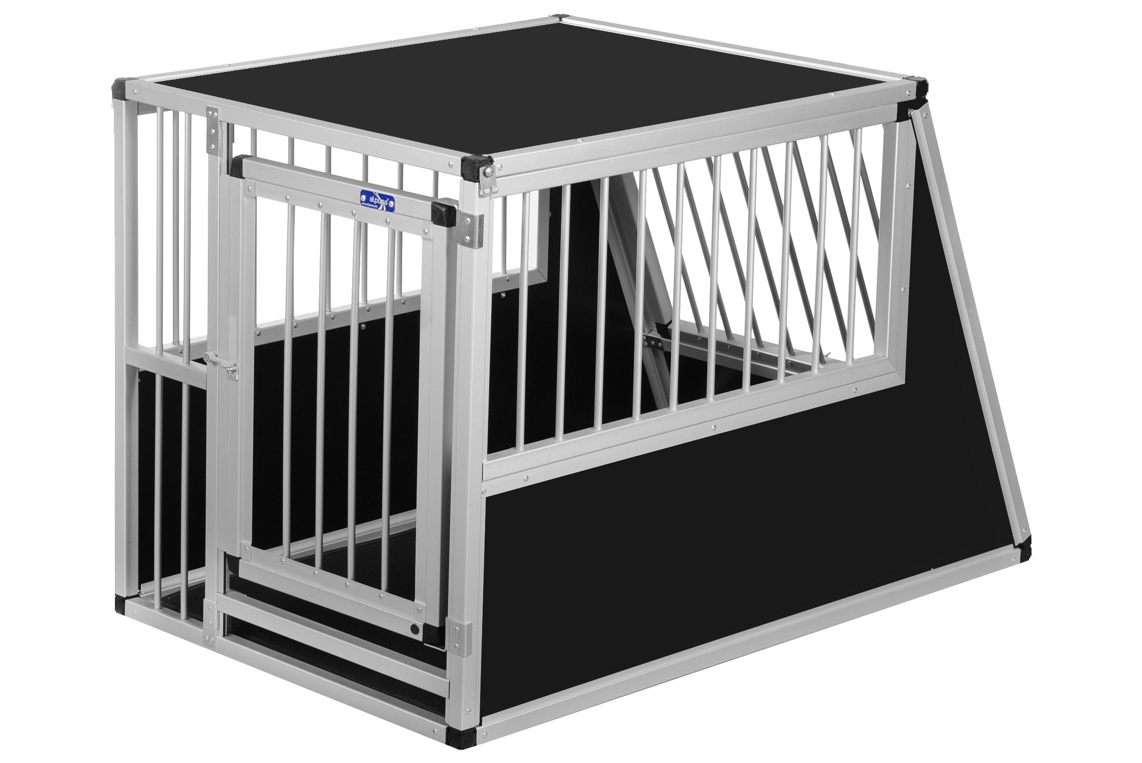 transportbox n49 115x70x75cm notausstieg alu. Black Bedroom Furniture Sets. Home Design Ideas