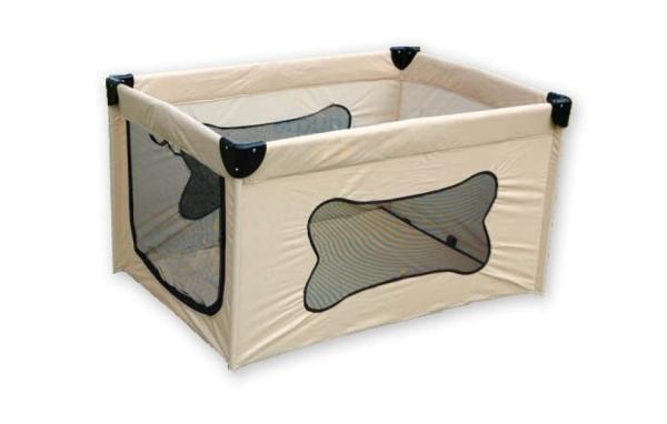 mobiler Laufstall für Hundewelpen > B-Ware mit Verfärbungen