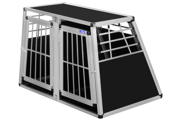 Transportbox N30 / 75x110x75cm / Doppelbox mit Notausstieg