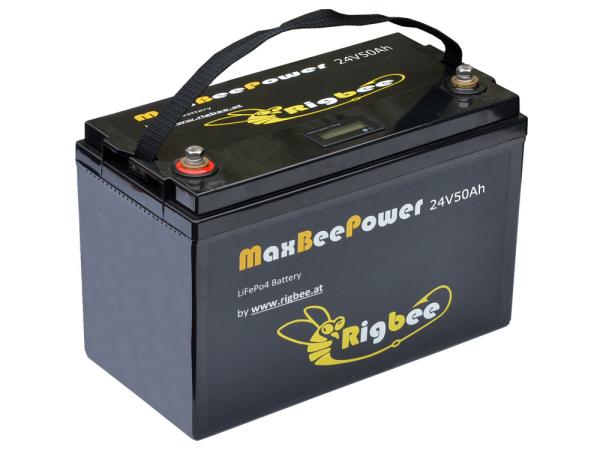 Rigbee LiFePO4 Akkublock 24V 50Ah / 1280Wh
