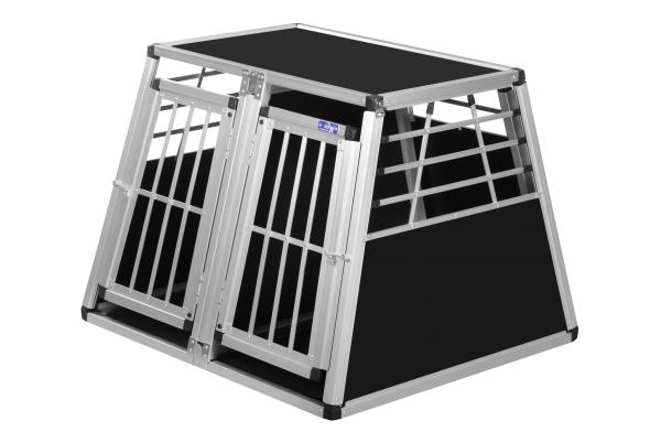 Transportbox N10 / 82x90x68cm / Doppelbox mit Notausstieg