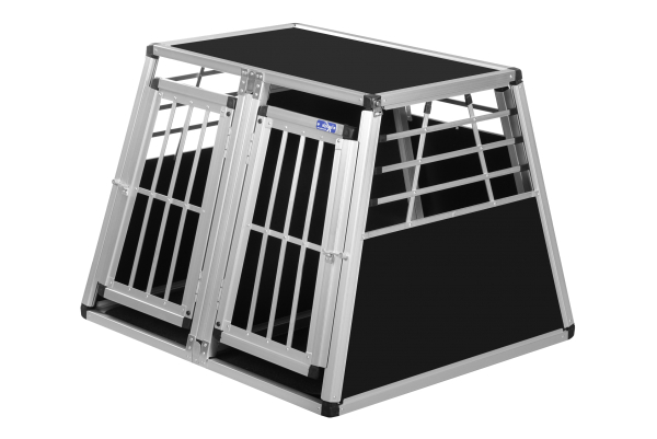 Transportbox N10 / 82x90x68cm Doppelbox Notausstieg