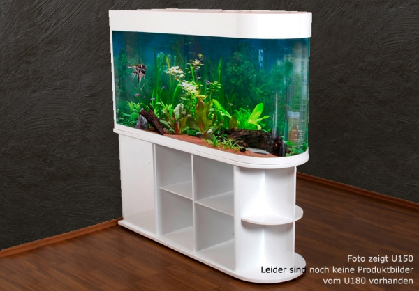 raumteiler aquarium u180 komplettaquarien aquarien tierwelt alpuna onlineshop. Black Bedroom Furniture Sets. Home Design Ideas