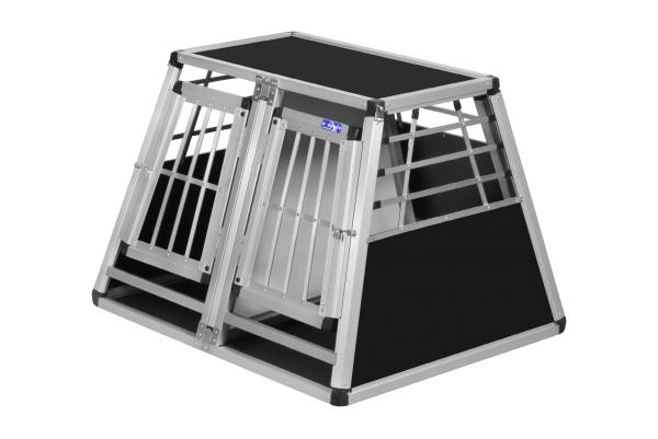 Transportbox N16 / 75x90x64cm / Doppelbox mit Notausstieg