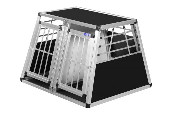 Transportbox N12 / 82x93x66cm Doppelbox Notausstieg