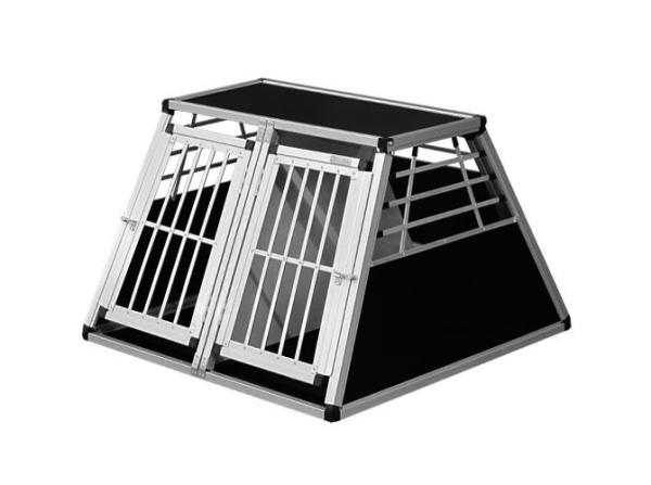 Transportbox N44 > 96x100x65cm Notausstieg Doppelbox