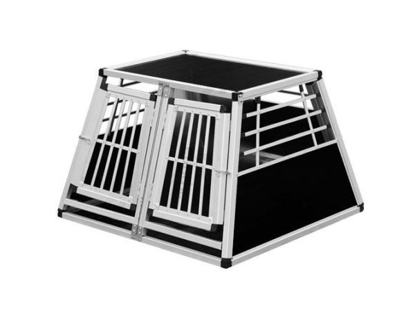 Transportbox N23 > 82x90x63cm Notausstieg Doppelbox