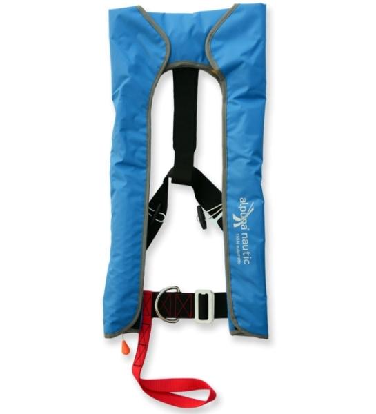 Vollautomatik-Rettungsweste 150N blau DIN EN ISO 12402-3