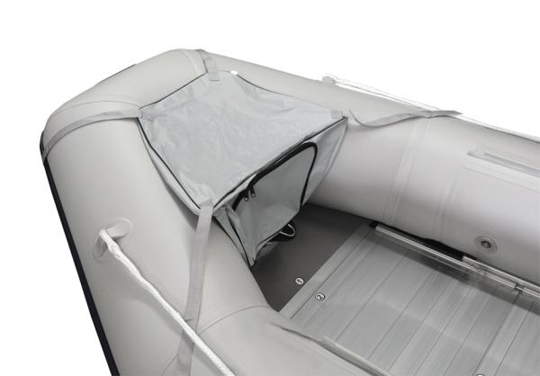 Bugtasche und Spritzschutz für Schlauchboote vom 270-320cm Länge