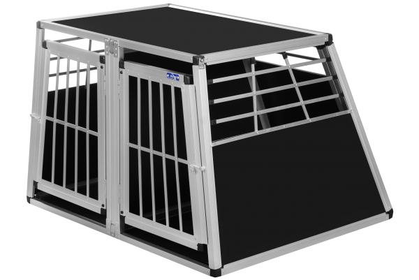 Transportbox N50 / 95x110x75cm / Doppelbox mit Notausstieg