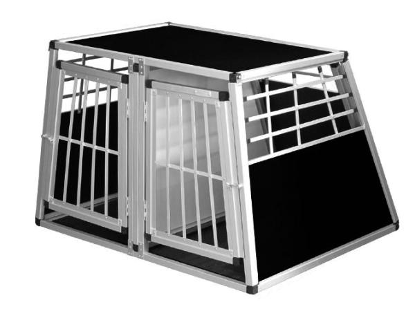 Transportbox N50 > 95x110x75cm Doppelbox Notausstieg