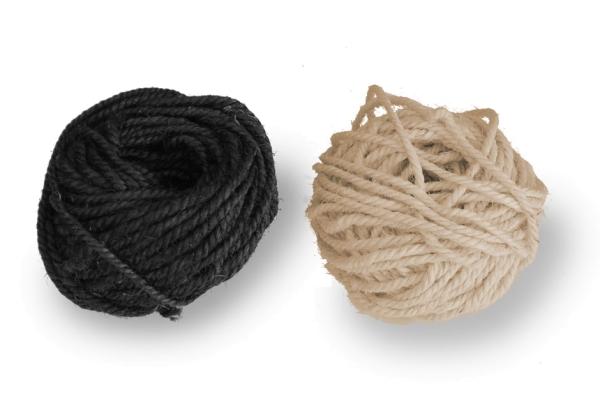 Natur-Sisal Seil 30m in zwei Farben (0,33 EUR/m)