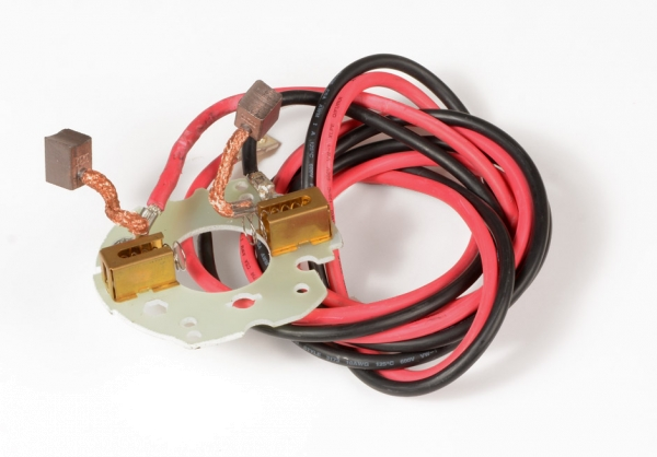 Kohlehalter inkl. Kabel und Kohlen >Cayman-B 80<